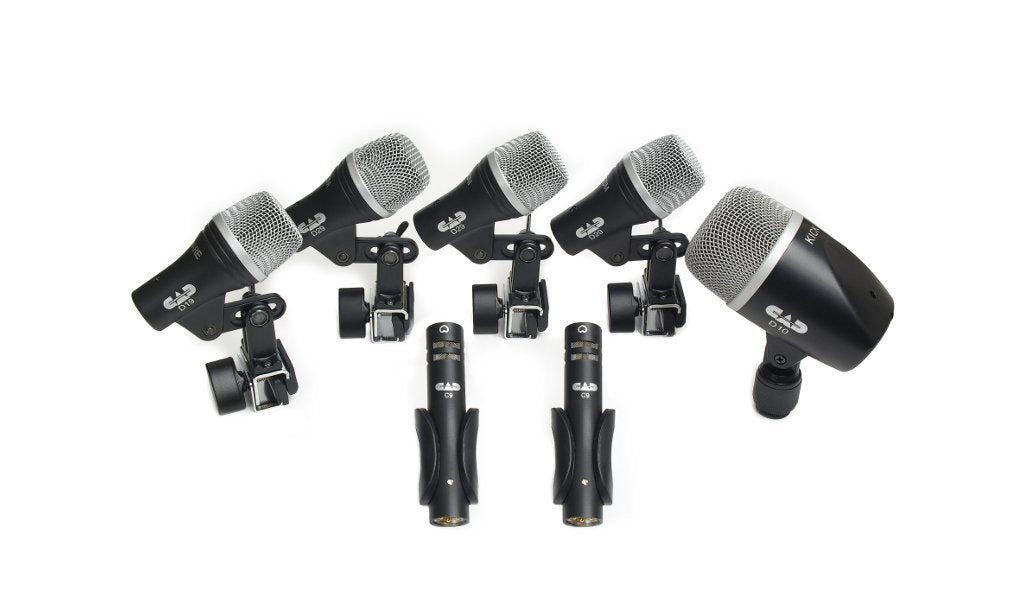 CAD STAGE7 | 7-piece Drum Microphone Pack