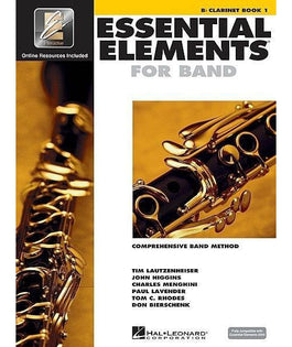 Essential Elements For Band Book 1 with EEi - Clarinet