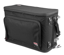Gator GR-RACKBAG Lightweight Pro Audio Rack Bag 3U  With Retractable Tow Handle