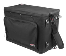 Gator GR-RACKBAG Lightweight Pro Audio Rack Bag 4U With Retractable Tow Handle