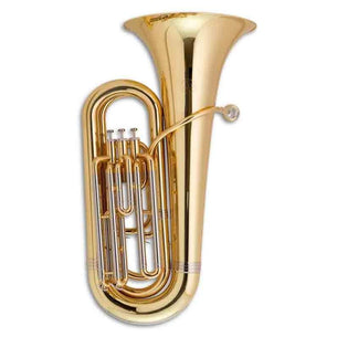 JOHN PACKER COMPACT TUBA JP078 B FLAT LACQUER | WITH CASE
