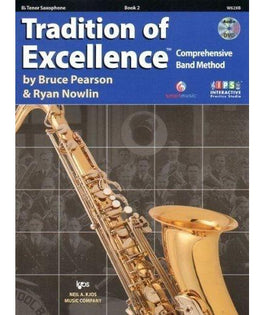 Tradition Of Excellence Book 2 - Tenor Saxophone