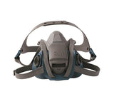 3M 6500 Series Half Facepiece Respirator w/Quick Latch