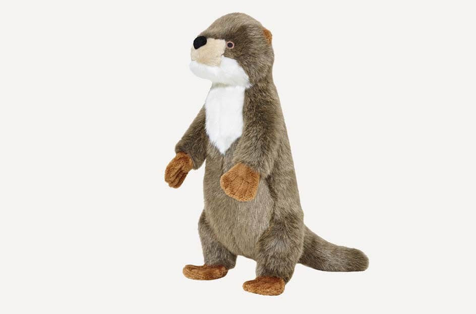 Fluff & Tuff Harry Otter Squeaky Toy