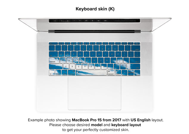 Tam MacBook Skin - keyboard stickers