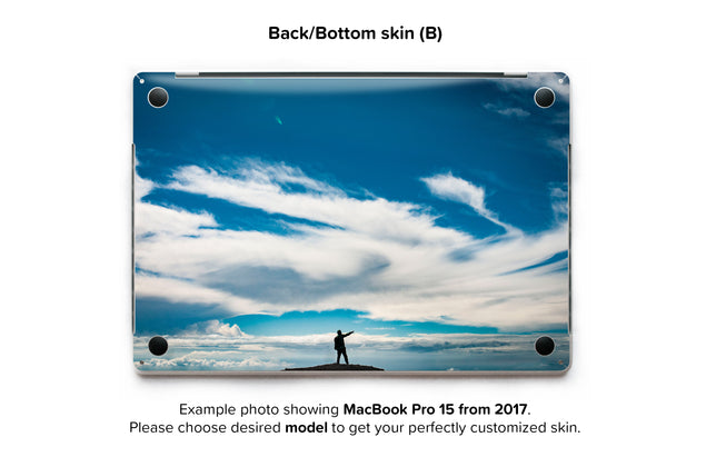 Tam MacBook Skin - back skin