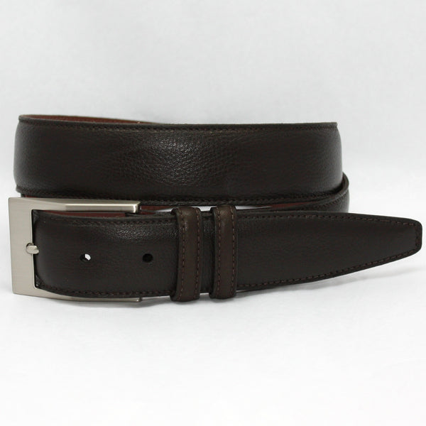 Torino Soft Deer Tan Tumbled Glove Belt