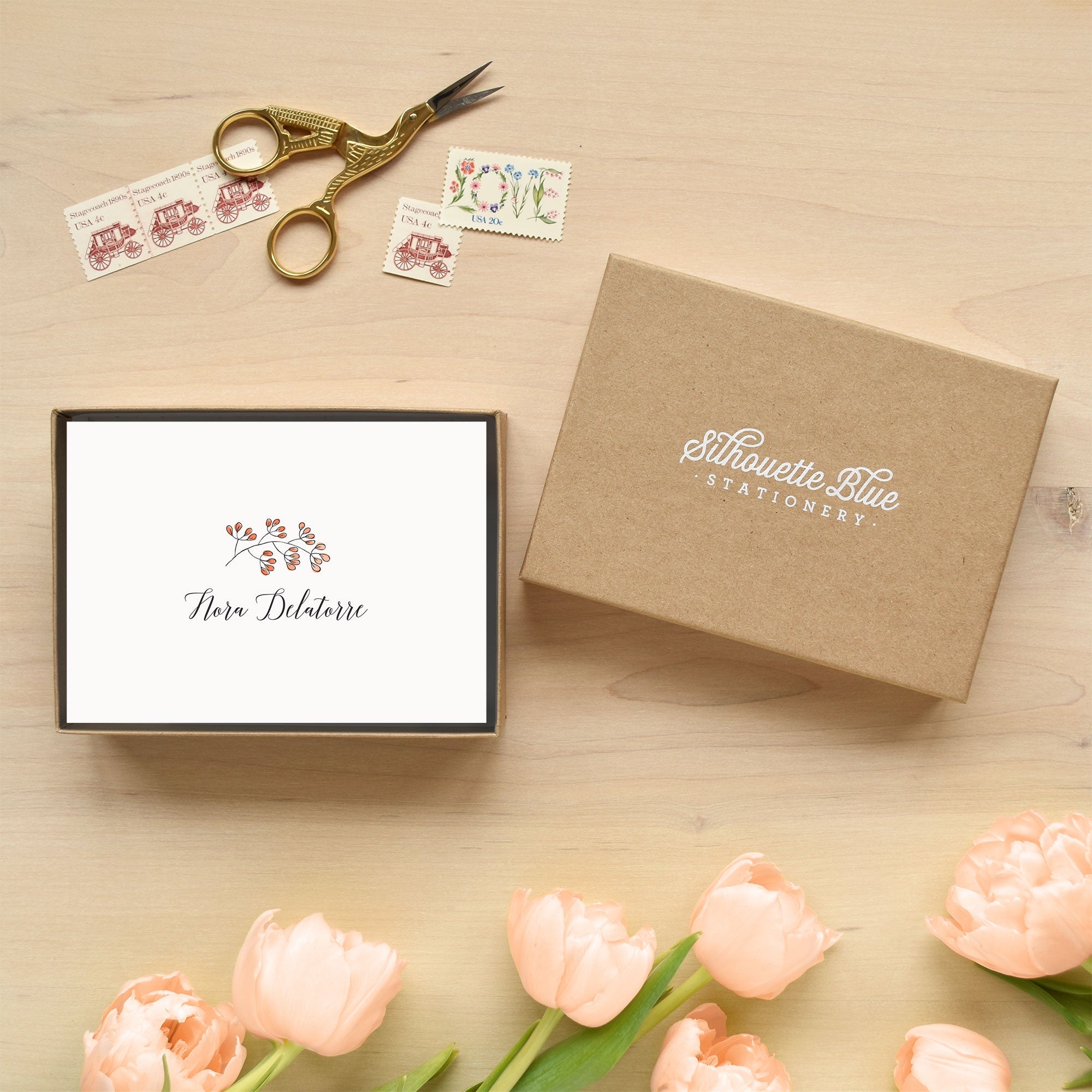 Seedling Personalized Stationery