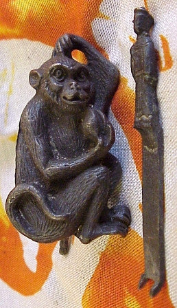 12 Animals of the Zodiac Monkey Lock