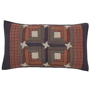 Parker Quilted King Sham 21x37""