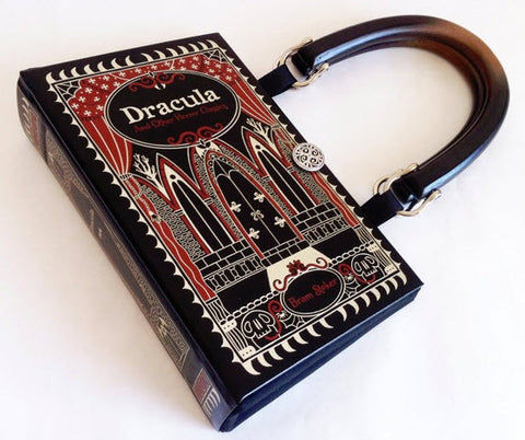 Dracula Book Purse - handmade