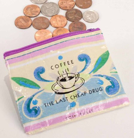 Coffee Money Coin Purse