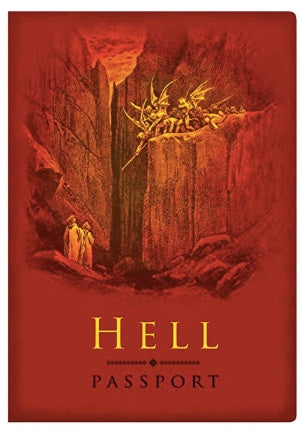 Hell Passport mini notebook