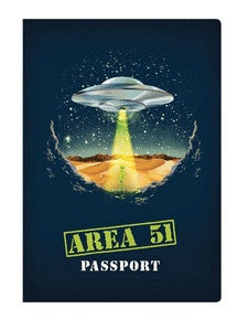Area 51 Passport  notebook