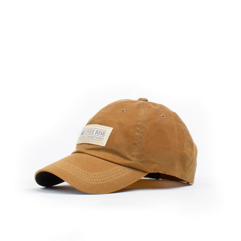 Tan Waxed Cotton Hat