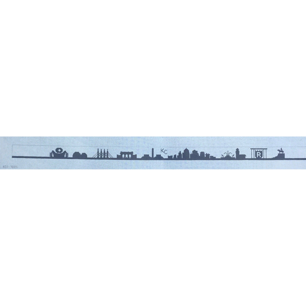 #2 KC Skyline Belt Canvas