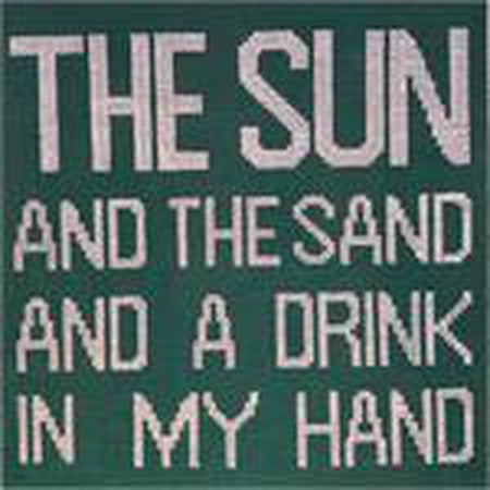The Sun and the Sand Needlepoint Canvas