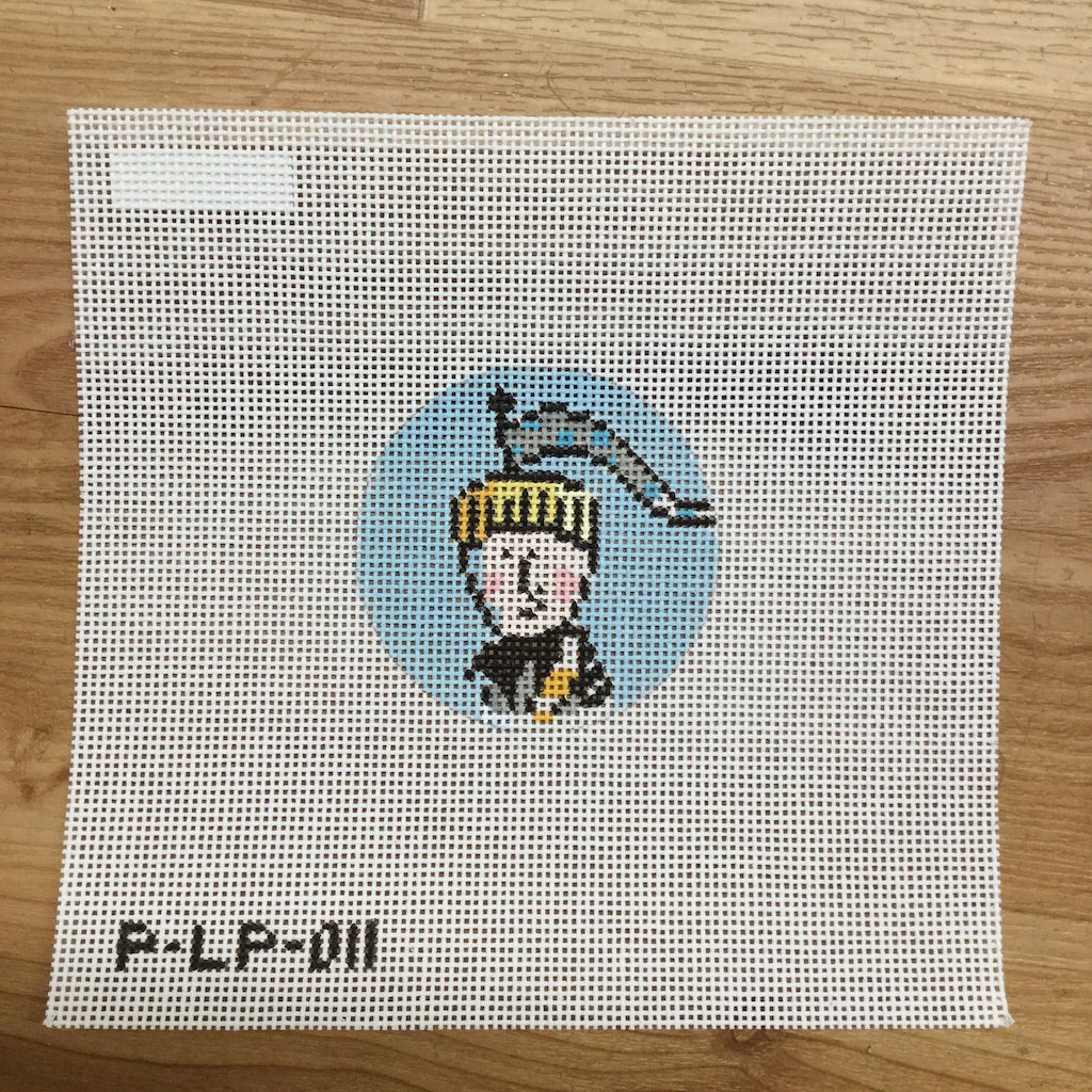 Air Round Head Needlepoint Canvas