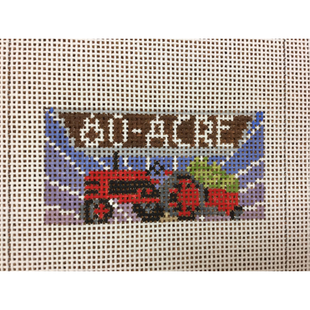 80 Acre Boulevard Beer Canvas - needlepoint
