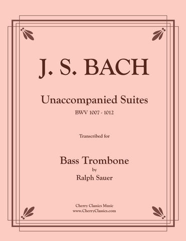 Sauer - Practice With Bach for the Euphonium, Volume I