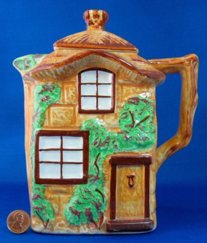 Westminster Cottage Ware Hot Water Pot 1950s Tall Teapot Hot Chocolate