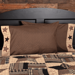 Bingham Star Pillow Case Set