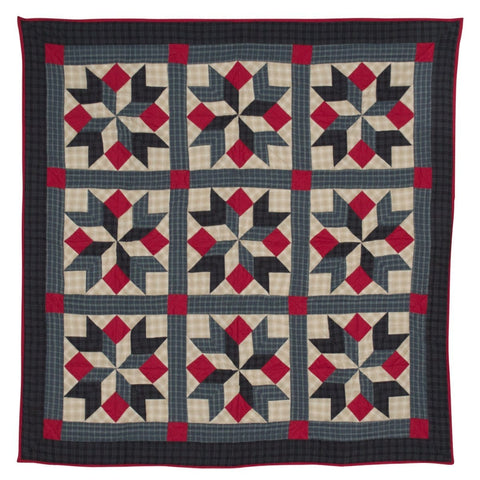 Patriot Star Mini Quilt - Table Topper / Wall Hanging