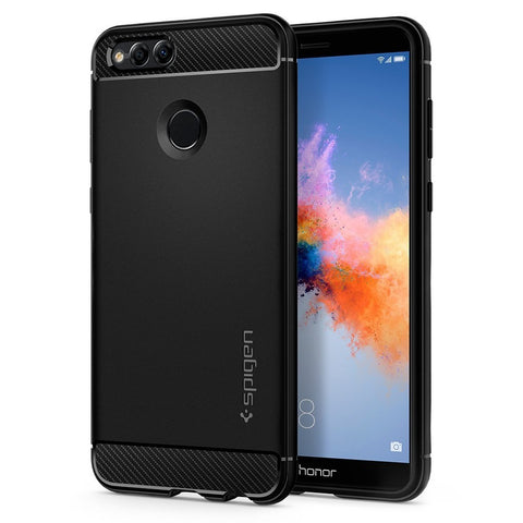Spigen Honor 7X Case / Huawei Mate SE Case Rugged Armor Black