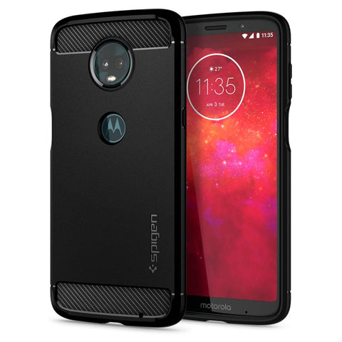 Spigen Moto Z3 Play Case Rugged Armor