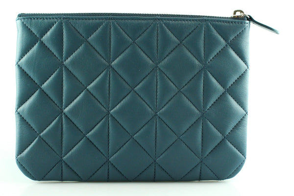 Mulberry Steel Blue Cara Delevingne Pouch