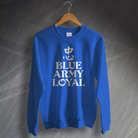 Blue Army Loyal Sweatshirt
