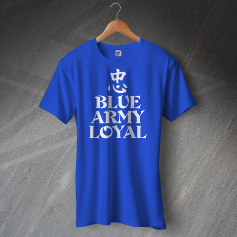 Blue Army Loyal Shirt