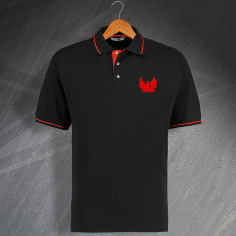 Retro Cirencester Embroidered Contrast Polo Shirt