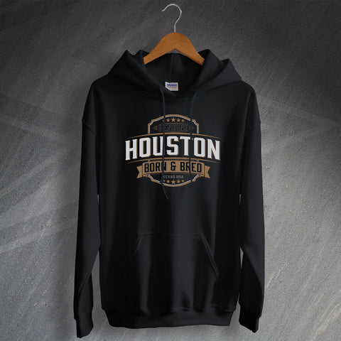 Genuine Houston Born and Bred Unisex Hoodie