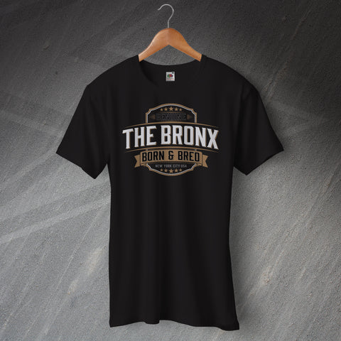 Genuine The Bronx Born and Bred Unisex T-Shirt