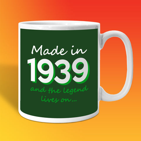 Made In 1939 and The Legend Lives On Bottle Green