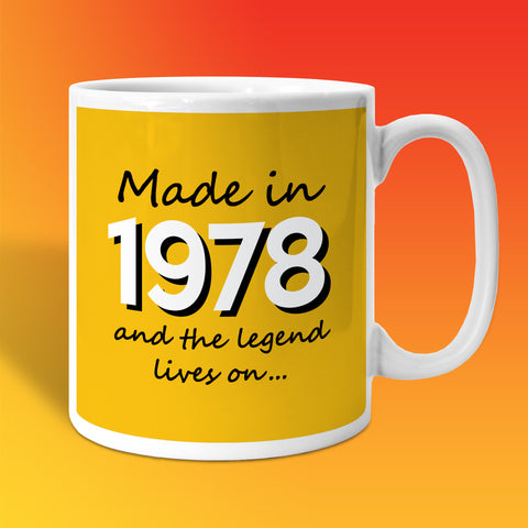 Made In 1978 and The Legend Lives On Sunflower