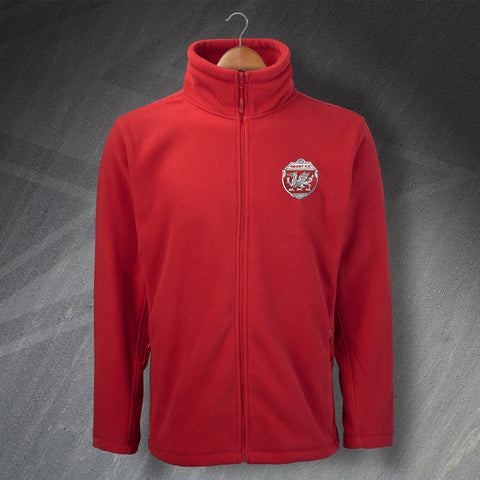 Retro Orient Fleece with Embroidered Badge