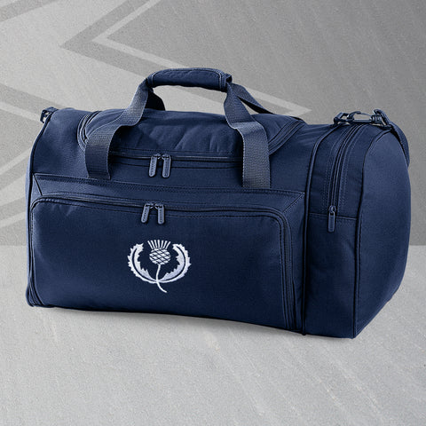 Retro Scotland Rugby Embroidered Universal Holdall