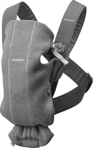 Baby Bjorn Baby Carrier Mini Jeresey-Dark Grey