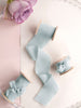 Silk ribbon | SEA GLASS