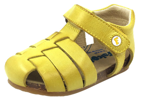 Naturino Falcotto Boy's and Girl's Alby Fisherman Sandals, Giallo