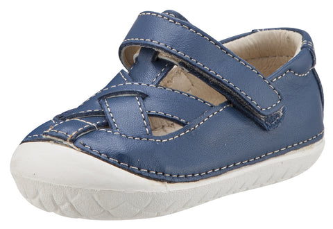 Old Soles Boy's and Girl's Thread Pave Leather Sandal Sneakers, Jeans