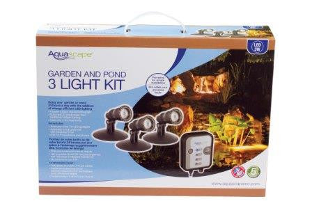 Aquascape LED Pond and Landscape Spotlight Kit