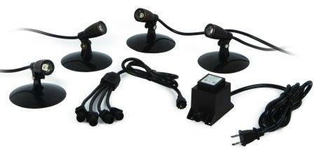 ATLANTIC WATER GARDENS SOL LED LIGHTING SET OF 4