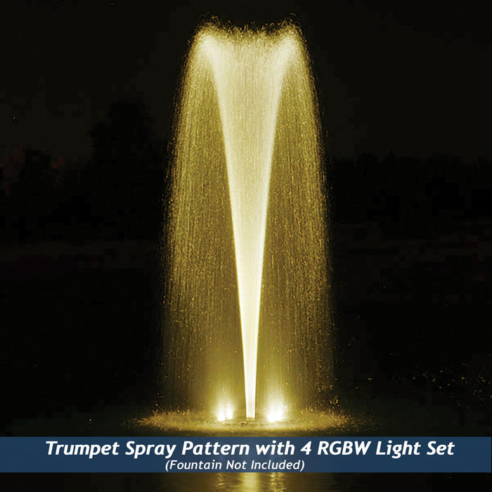 Airmax EcoSeries RGBW Color-Changing LED Fountain 4 Light Set
