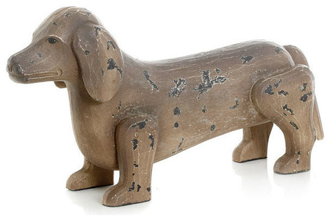 Antique Painted Finish Dog
