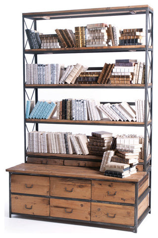 Baxter Bench | Bookcase