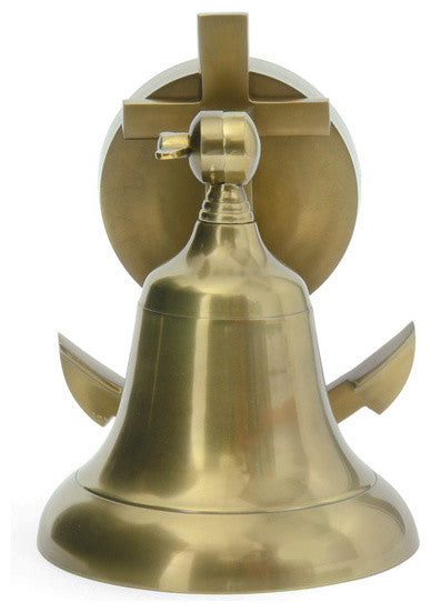 Go Home Ship Bell Sconce