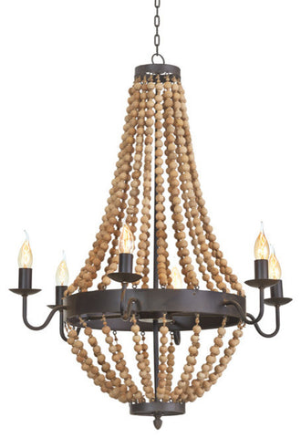 Go Home Bead Chandelier